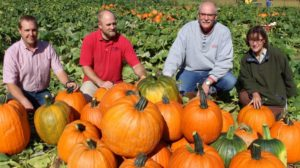 Cover photo for 2016 Pumpkin Variety Trials